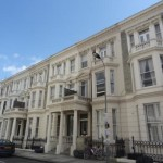 West Kensington double studio flat